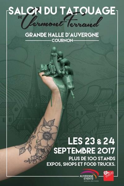 Salon du tatouage Grande halle Auvergne
